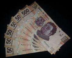 Banknote: 500 Pesos Frida Kalo And Diego Rivera