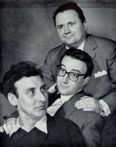 The Goons  Harry Seacombe, Peter Sellars & Spike Milligan ( later joined by Michael Bentine)