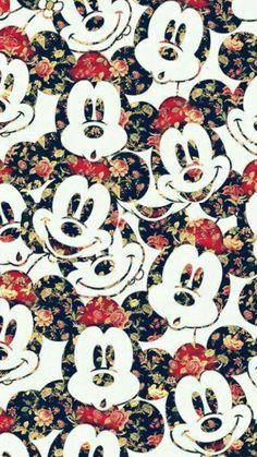 Imagem de wallpaper, disney, and mickey mouse Wallpaper Do Mickey Mouse, Cute Disney Wallpaper, Cartoon Wallpaper, Tumblr Wallpaper, Pattern Wallpaper, Wallpaper Backgrounds, Iphone Wallpaper, Cellphone Wallpaper, Wallpapers Tumblr