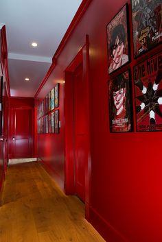 21 Garnet Red Rooms Living Room Red, Living Room Colors, Living Room Paint, Living Room Decor, Purple Rooms, Red Rooms, Wall Colors, House Colors, Punk Room