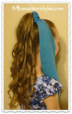 Genie hairstyle and headpiece tutorial, Halloween Hairstyles