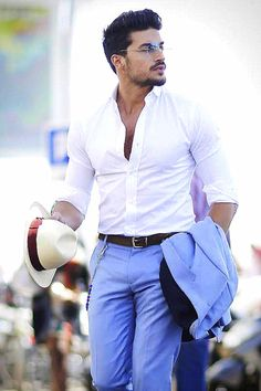 Mariano Di Vaio in Tommy Hilfigers SS 15 Collection