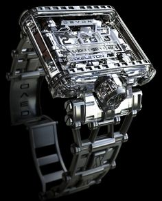 #chronowatchco Devon Tread 1 Exoskeleton #unique #watch