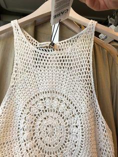 Crochet Beach Dress, Crochet Girls, Crochet Crop Top, Love Crochet, Crochet For Kids, Crochet Bikini, Crochet Fringe, Blouse Models, Odd Molly