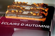 Fauchon - now that is an eclair!