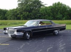"1970 Cadillac Sedan DeVille-drove it for 5 years, mine was gold with a brown ""plether"" roof. SWEEETTTT!!!!"