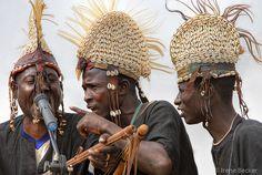 African Musicians in Argungu by Irene Becker