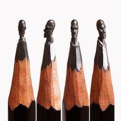 Miniature Pencil Sculptures by Salavat Fidai #miniature #sculpture