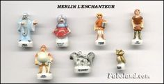 Sword and the Stone disney porcelain french feves