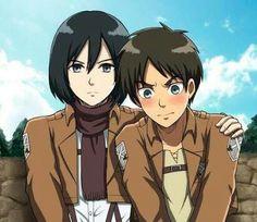 Eren blushes