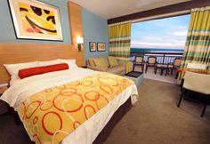 Disney Resort Hotels, Disney's Contemporary Resort - Guest Room - Bay Lake tower, Walt Disney World Resort