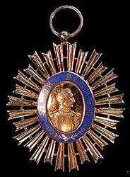 Grand Cordon: Badge of Venezuela Order of the Liberator