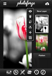PhotoForge 2 -- GhostBird Software (photo editing for iPhone)