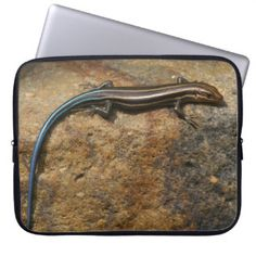 Five-lined Skink, Electronics Bag. Laptop Sleeves