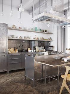 42 Fantastiche Immagini Su Cucina Professionale Nel 2019 Kitchen