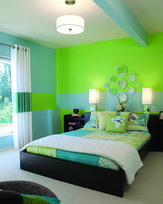 Beautiful design for a teen's room. By Decorating Den Interiors