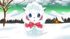 Dec.5, 20 days till Christmas. Look at this Vulpix while you are waiting!