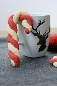 Zuckerstangen-Kekse