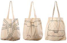 cool printed bags