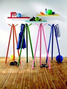Cute!  Would be nice for jeans, jammies,  dance leotards...  Coat rack | Room and Board