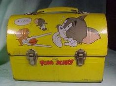 Tom and Jerry Yellow Japanese Dome LB