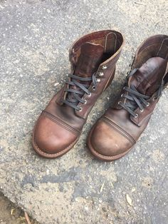 Red wing Heritage Iron Rangers Style 8111 Size 11.5D Made In USA #RedWing #AnkleBoots