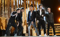 The Wanted performing at the 2012 Billboard Music Awards in Las Vegas! :)
