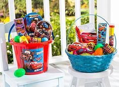 Easter Gift Basket for Boys From Disney Pixar Cars and Friends -- Click image to review more details.