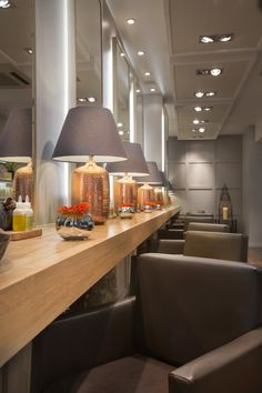 Aveda Lifestyle Salon - Edward James - Putney, UK. by Reis Design, via Behance