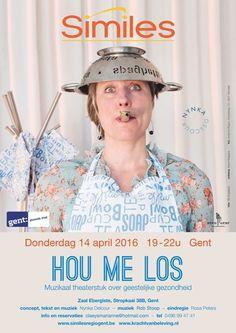 14-4-2016 te zien in Gent, i.s.m. Similes