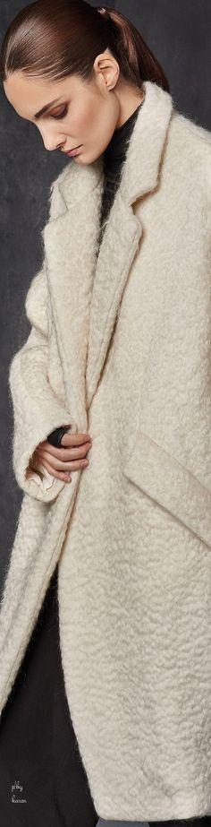 Donna Karan - Urban Zen - Cirus Cloud Wool Coat FW 2015