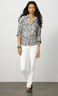 d5909cd8f0 Cowgirl Shirt - Denim   Supply Long-Sleeve - RalphLauren.com