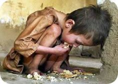 Poverty - if this doesn't break your heart, perhaps, you should check to see you have one!