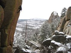 Photo of Turkey Rocks in South Platte from Mountain Project. Getting excited about my weekend plans.