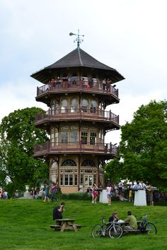 The Pagoda in Patterson Park (Baltimore, MD)