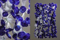 Sculpture by Natasha St. Michael (supernat) - A Montreal bead artist inspired by biology and growth.