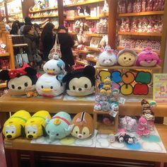 Tsum Tsum from Disney Store Japan