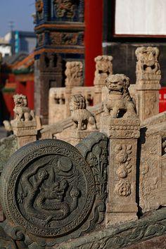 Anshan Buddhist Temple Complex, Liaoning, China