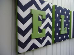 thin or thick plain or design can match most theme price varies on theme with or without bows can also do name boards (fabric & painted) $10- $15 per letter