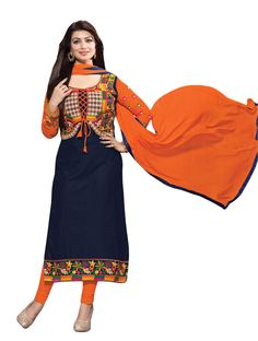 Blue Georgette Party Wear Salwar Kameez with Dupatta Patiala Dress, Patiala Suit, Punjabi Dress, Punjabi Suits, Salwar Suits Online, Designer Salwar Suits, Stylish Suit, Stylish Dresses, Salwar Kameez Neck Designs