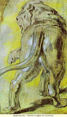 Peter Paul Rubens. Lioness. Olga's Gallery.