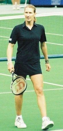 Liste der Weltranglistenersten im Damentennis (Einzel) – Wikipedia Steffi Graff, Z New, Match Point, Tennis Clothes, Tennis Players, Tennis Racket, Fitness, Sports, Munich