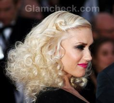Gwen Stefani Hairstyle Makeup at 2011 cannes film festival