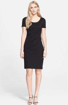 Diane von furstenberg black dress nordstrom
