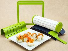 40 Top Products from I Want That, Season Three: SushiQuik helps take the mystery out of sushi-making, allowing you to make perfect sushi rolls from your favorite ingredients. The SushiQuik kit is dishwasher safe and the rolling mat is detachable for easy cleaning.  See the video. From DIYnetwork.com
