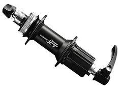 Shimano XT MTB Rear Hub FH-M775. Drilled out lock nut for 10mm bolt through