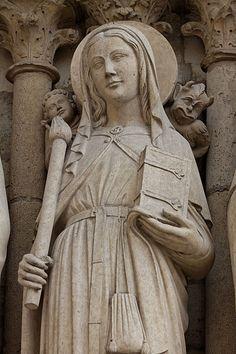 ND Paris - Portail de la vierge 1210-1220  File:Paris - Cathédrale Notre-Dame - Portail de la Vierge - PA00086250 - 023.jpg