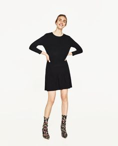 FRILLY DRESS-NEW IN-WOMAN | ZARA United States