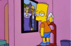 Not a parody, I know...but I love how many art references The Simpsons has made over the years
