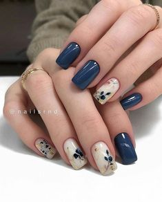 Best Acrylic Nails, Acrylic Nail Designs, Nail Color Designs, Marble Nail Designs, Creative Nail Designs, Simple Nail Art Designs, Short Nail Designs, Nails Design, Nails Today